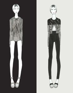 Fashion Portfolio - knitwear illustrations; fashion design; fashion sketchbook // Soyeon Hwang