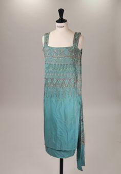 Lucien Lelong 1920's cocktail dress
