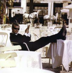 Ciao, Marcello.  (#Marcello #Mastroianni,  born in Fontana Liri, Italy, 28 September 1924 – Died in Paris,  France, 19 December 1996)  #cinema