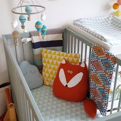 Stone Teal Cot
