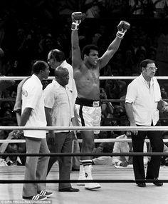 The Thrilla In Manila. October 1,1975. Ali vs Smokin Joe Frazier. The greatest boxing match of all times