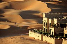 Qasr Al Sarab Resort 7 - Liwa Desert, United Arab Emirates by M. Khatib, via Flickr