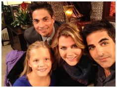 Ali Sweeney (@Ali_Sweeney) tweeted at 3:26 PM on Thu, Sep 12, 2013:  Catching up between scenes with @galengering @bryan_Dattilo & cute Campbell :) #behindthescenes #Days   (https://twitter.com/Ali_Sweeney/status