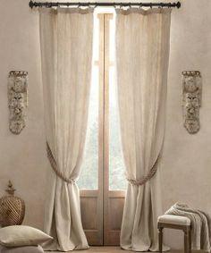neutral curtains