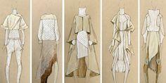 Venerdì è dedicato all'illustrazione fashion ma non vi mostro il lavoro di un'artista specifico voglio condividere la mia passione per gli schizzi di moda