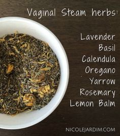 With all the torture we inflict on our vaginas these days – waxing, lasering, chemical-laden douches Natural Health Remedies, Herbal Remedies, Yoni Steam Herbs, Ayurveda, V Steam, Steam Recipes, Bacterial Vaginosis, Healing Herbs, Hygiene