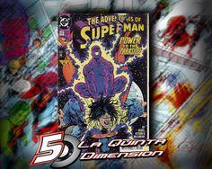 ADVENTURES OF SUPERMAN # 512 Dibujo de B. Kitson $ 50.00 Para más información, contáctanos en http://www.facebook.com/la5aDimension