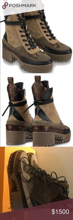 35abf0e013b Luis Vuitton LAUREATE PLATFORM DESERT BOOT 1A41QS Louis Vuitton s iconic  desert boot is reinterpreted for Spring
