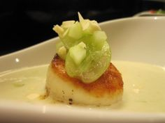 Food: Scallops on Pinterest | Scallops, Seared Scallops and Strawberry ...