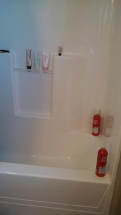 Clean Showers: Equal Parts Vinegar, Dawn, Hydrogen Peroxide. Spray, Wait 1  Hr, Wipe With A Sponge. Got All The Soap Scum Off! My Shower Is So Shiny  Now!