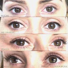 Toronto Advanced Eyeliner Permanent Makeup Services Blonde Eyebrow Makeup, Blonde Eyebrows, Permanent Eyeliner, Makeup Services, Toronto, Natural Beauty, Lashes, Cosmetics, Eyes