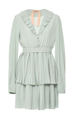 Tiered Mini Dress by NO. 21 for Preorder on Moda Operandi