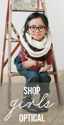 Jonas Paul Eyewear: every pair of kids glasses sold supports CBM International in their efforts to being vision to those who need glasses or eye surgery.