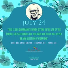 #OmSai #SaiSamartha Please share: By Baba's grace, Team I Love Sai has introduced this Baba's calendar. The message in this is directly from Shri Sai Satcharitra. We urge you to please share this and spread Baba's message. Thank you in advance.... #ShirdiSaiMessage #SaiDailyMessage #ILoveSaiCalender #ShirdiSaiCalender #BabaMalik