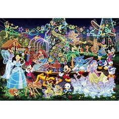 Tenyo Jigsaw Puzzle DW-1000-449 Disney Magical Illumination (1000 Pieces) | Toys & Hobbies, Puzzles, Contemporary Puzzles | eBay!