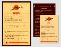 Cafebrería Menú - Monica Andino I Design