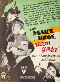 Marx Brothers in Room Service