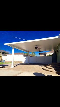 DIY Alumawood Patio Cover Kits By: PatioKitsDirect.com · Wood PatioConcrete  PatiosFlat RoofCovered PatiosPorch IdeasHouzzSheltersOutdoor DecorHome Ideas