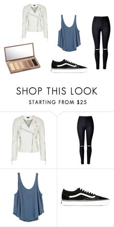 """Monday"" by julietoft on Polyvore featuring Topshop, WithChic, RVCA, Vans and Urban Decay"