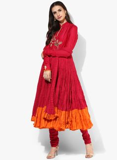 Buy Biba Fuchsia Embellished Kurta Churidar Dupatta online in India at best price.An excellent pick for special occasions is this fuchsia coloured suit set from BIBA. Churidar, Kurti, Designer Punjabi Suits, Ethnic Design, Anarkali Suits, Budget Wedding, India, Album, Lady
