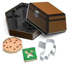 Minecraft 5pc Cookie Cutters @ niftywarehouse.com