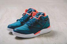 42123c1a8046 Reebok Pump Omni Lite 'Cordura' (Teal   Coral) - EU Kicks  Sneaker  Magazine