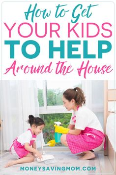 Welcome to my weekly post where I answer one of your questions you've submitted. This week's question is on how to get your kids to help around the house. Here are five strategies that have… More Summer Activities For Kids, Summer Kids, Chores For Kids By Age, Strong Willed Child, Age Appropriate Chores, Money Saving Mom, Budgeting Money, Work From Home Moms, Stay Fit