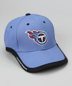 Take a look at this Light Blue Tennessee Titans Baseball Cap - Kids by NFL  on 24ed6bb544d4