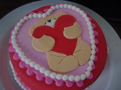 Super schattige valentijn taart!