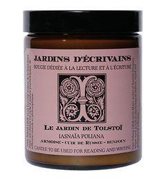 Jardins d'Ecrivains - Le Jardin de Tolstoi - Iasnaia Poliana Candle - 6 oz