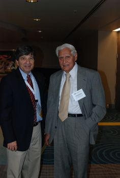 "Dr. Larry Lapide, MIT and Dr. Chaman L. Jain, author of IBF's body of knowledge book, ""Fundamentals of Demand Planning & Forecasting"" and Chief Editor of IBF's Journal of Business Forecasting"