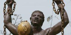 Abolition of Slavery - Mauritius Tourist Guide Local Festivals, Mauritius, Statue, History, 27 Avril, Roots, Souvenir, Starbucks Recipes, Black People