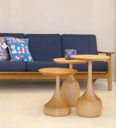very twenty21, Hans Wegner plank sofa meets contemporary Mule Furniture Ida tables