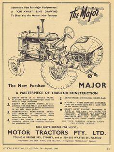 https://flic.kr/p/q9okCM | Fordson Major 1946