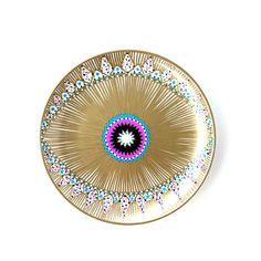 Bohemian Eye - Magic Eye - Gold Eye - Petite Eye Decor - Interior Art - Pink Magic Eye - Wall Plate - Home Eye Decor - Vibrant Eye Love Plate Wall Decor, Plates On Wall, Wall Art Decor, Greek Paintings, Ceramic Art, Ceramic Plates, Decorative Plates, Magic Eyes, Plate Art