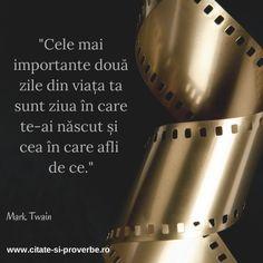 #Citat despre #viata; #twain
