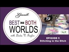 Best of Both Worlds: Calendar Quilt with Linda Taylor and Paula Everill HD - YouTube