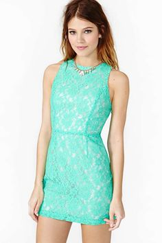 Nasty gal Ivy Lace Dress on Wantering