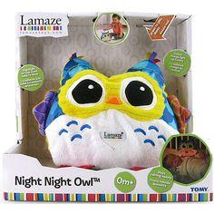 Emil die Eule von Lamaze ist nicht nur zum Knuddeln süß, sondern bringt auch Licht ins dunkle Kinderzimmer. <br /> <br /> Die niedliche Eule aus bunten Materialien hat einen Plüsch Körper und der Bauch fängt beim Einschalten des Nachtlichts an, in verschiedenen Farben zu leuchten. Sanfte Schlaflieder bringen Baby zusätzlich in den Schlaf. Die Bedienung des Nachtlichts ist kinderleicht. Beim einmaligen Drücken werden Nachtlicht und Musik aktiviert, drückt man erneut wird...