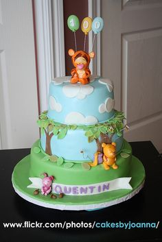 Tigger cake by TheCakingGirl, via Flickr