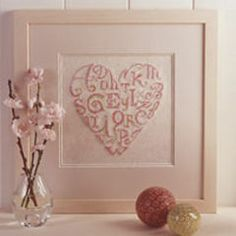 letter heart