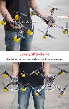 Lovely little drone - STORM Drone 4 Flying Platform (V2) http://www.helipal.com/storm-drone-4-flying-platform-v2.html