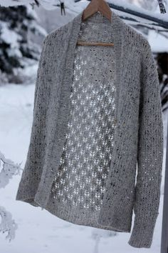 Pomme de pin Cardigan by Amy Christoffers