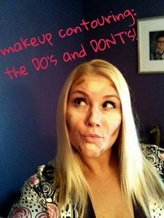 Hometown Queen Bee: Contouring can be CoNfUsInG!