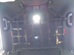 Toyota Tacoma Double cab ceiling storage attic net