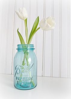 I should look through my jars and fill some with flowers!