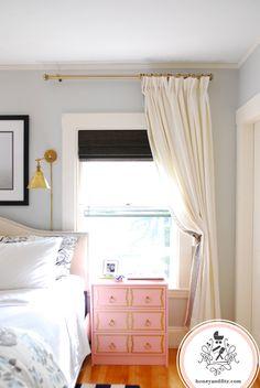Master Bedroom Progress Vol. 2:  Blinds, Curtains, Rods