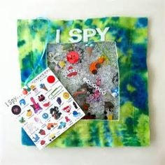 iSpy Quiet Book Page | Imagine Our Life