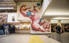 New murals painted at Aqueduct Racetrack http://www.metro.us/newyork/news/local/2013/11/25/colorful-horses-come-to-aqueduct-race-track/