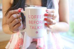 Coffee before Talkie...